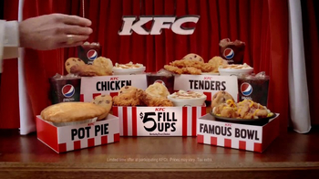 KFC $5 Fill Ups TV Spot, 'Game Show'