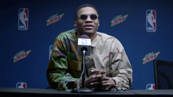 Mountain Dew and NBA TV Spot, 'Don't Do They' Featuring Russell Westbrook - Thumbnail 3
