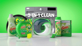 Gain Detergent TV Spot, 'Old School vs. New School'