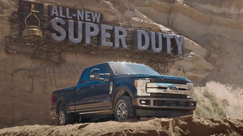 2017 Ford Super Duty TV Spot, '2017 Motor Trend Truck of the Year' - Thumbnail 7