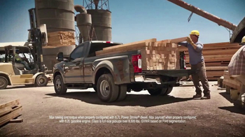 2017 Ford Super Duty TV Spot, '2017 Motor Trend Truck of the Year' - Thumbnail 5