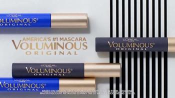 L'Oreal Voluminous Original Mascara TV Spot, 'Five Times More Volume'