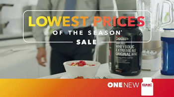 GNC Lowest Prices of the Season Sale TV Spot, 'Change'
