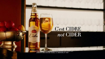 Stella Artois Cidre TV Spot, 'C'est CIDRE. Not CIDER.' - Thumbnail 3