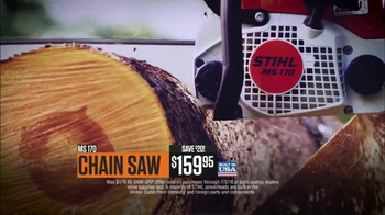 Stihl TV Spot, 'Chainsaw & Hedgetrimmer'