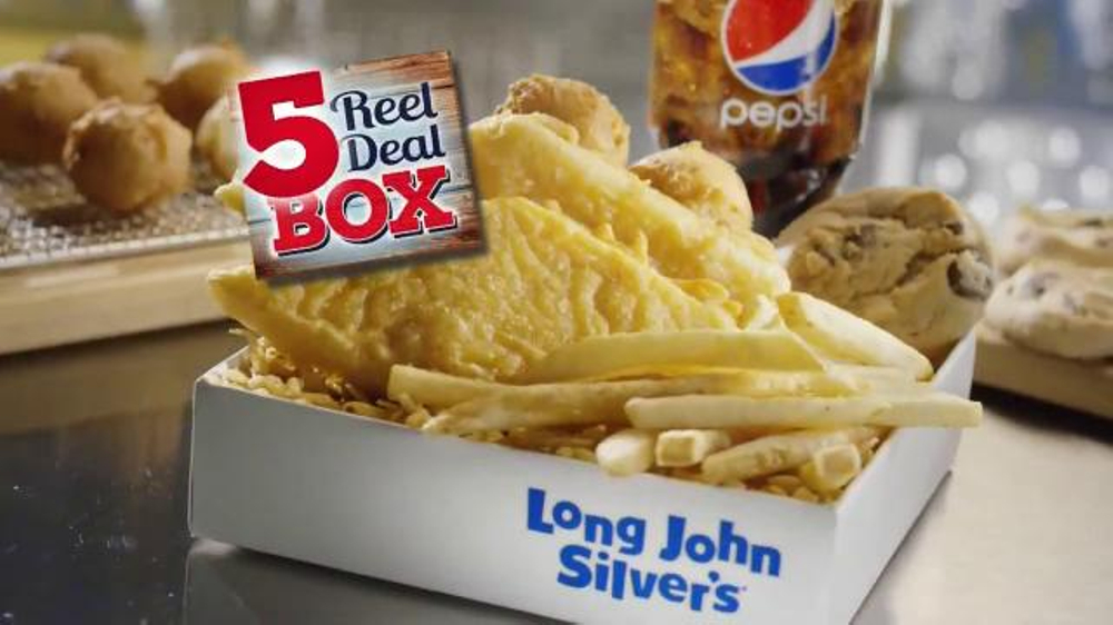 Long john silver 39 s tv commercials for Long john silver s fish and chips