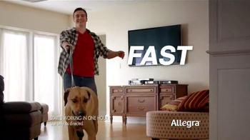 Allegra Allergy Gelcaps TV Spot, 'Roller Coaster' - Thumbnail 2