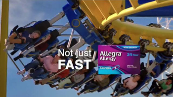 Allegra Allergy Gelcaps TV Spot, 'Roller Coaster' - Thumbnail 6