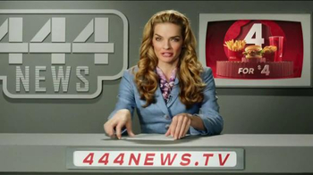 Wendy's 4 for $4 Meal TV Spot, 'Even Bigger News' - Thumbnail 5