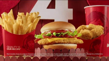 Wendy's 4 for $4 Meal TV Spot, 'Even Bigger News' - Thumbnail 6
