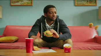 Wendy's 4 for $4 Meal TV Spot, 'Even Bigger News' - Thumbnail 9