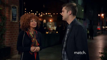 Match.com TV Spot, 'Match on the Street: Good First Date'