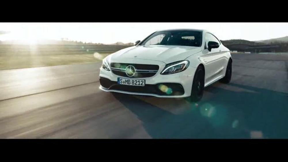 2017 mercedes benz amg c63 s tv commercial 39 before for Mercedes benz winter event commercial
