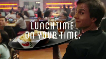 Chili's Lunch Combos TV Spot, 'Skip the Line' Song by Slightly Stirred