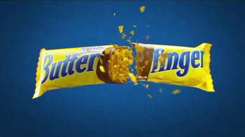 Butterfinger TV Spot, 'Bolder Than Bold: Bright Yellow Wrapper & Sticky'