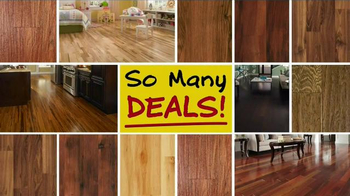 Lumber Liquidators April Sale TV Spot, 'Unheard of Deals'