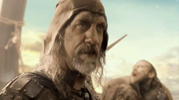 Sonic Creamery Shakes TV Spot, 'History Channel: Viking Shake Break'