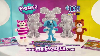 Fuzzeez TV Spot, 'Build Your Own Buddy' - Thumbnail 8