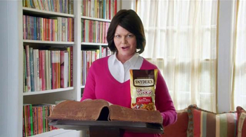 Snyder's of Hanover Pretzel Pieces TV Spot, 'Dictionary'