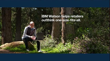 IBM Watson TV Spot, \'The North Face + IBM Watson on Cognitive Retail\'