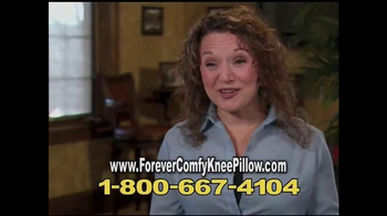 Forever Comfy Cooling Knee Pillow TV Spot, 'Anatomically Aligned Support'