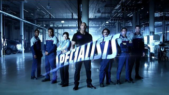 Ford Service TV Spot, 'The Specialists' Featuring Dwayne Johnson
