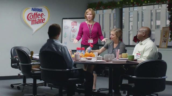 Coffee-Mate TV Spot, 'Gingerbread Joel Makes an Awkward First Impression' - Thumbnail 2