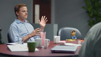 Coffee-Mate TV Spot, 'Gingerbread Joel Makes an Awkward First Impression'
