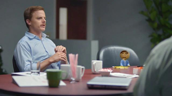 Coffee-Mate TV Spot, 'Gingerbread Joel Makes an Awkward First Impression' - Thumbnail 5