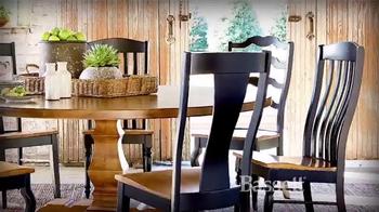 Bassett HGTV Custom Furniture Sale TV Spot, 'Craftsmanship'