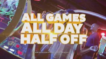 Dave and Buster\'s TV Spot, \'Half-Price Games Wednesday\'