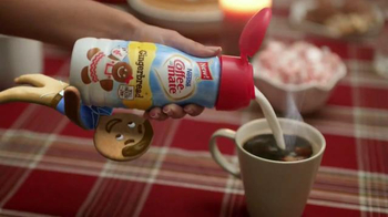 Coffee-Mate TV Spot, 'Gingerbread Joel Falls Hard for A Holiday Flavor' - Thumbnail 5