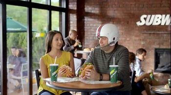 Subway Sweet Onion Chicken Teriyaki TV Spot, 'No Life Coach Required' - Thumbnail 2