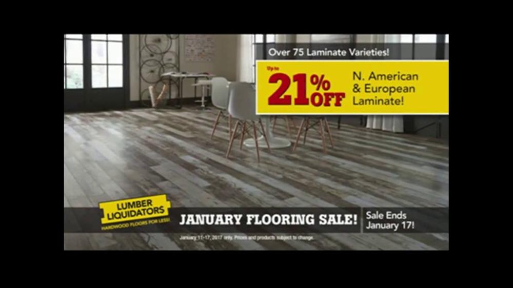 Lumber Liquidators January Flooring Sale Tv Commercial The Best Deals Ispot Tv