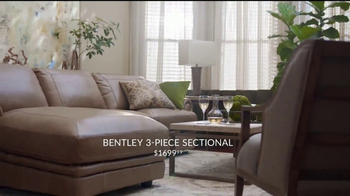 Havertys New Year Savings Event TV Spot, 'Sectional, Bed & Dining Set'