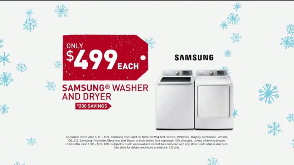 Does Lowe's sell Maytag dryers?