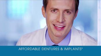 Affordable Dentures TV Spot, 'Back to Yourself'