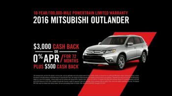 2016 Mitsubishi Outlander TV Spot, 'I Spy: Cash Back'
