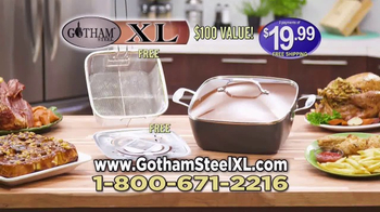 Gotham Steel XL TV Spot, 'More Cooking Space' - Thumbnail 9