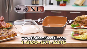 Gotham Steel XL TV Spot, 'More Cooking Space' - Thumbnail 7