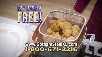 Gotham Steel XL TV Spot, 'More Cooking Space' - Thumbnail 8
