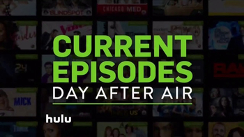 Hulu TV Spot, 'Current Episodes and Movies' Song by Jane Zhang