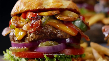 Denny's 100% Beef Burgers TV Spot, 'Made to Order'