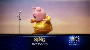 DIRECTV Cinema TV Spot, 'Sing'