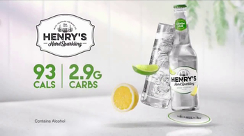 Henry's Hard Sparkling TV Spot, 'Lemon Lime' - Thumbnail 2