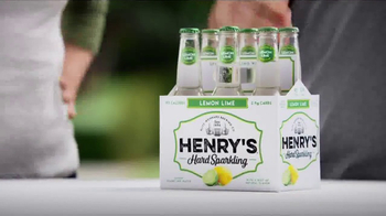 Henry\'s Hard Sparkling TV Spot, \'Lemon Lime\'