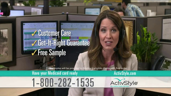 ActivStyle TV Spot, 'Free Sample'