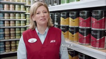 ACE Hardware Buy Two Get One Free Paint Sale TV Spot, \'Lots to Choose From\'