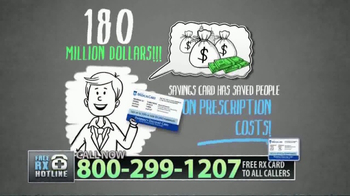Free RX Network Prescription Savings Card TV Spot, \'Start Saving\'