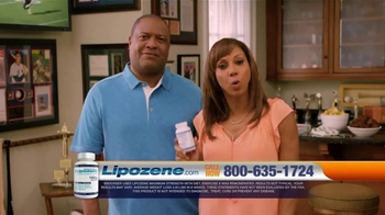 Lipozene TV Spot, 'Favorite Foods' Feat. Rodney Peete, Holly Robinson Peete